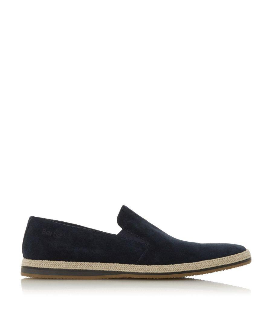 Image for Bertie Mens BARAGE Suede Espadrille Shoes