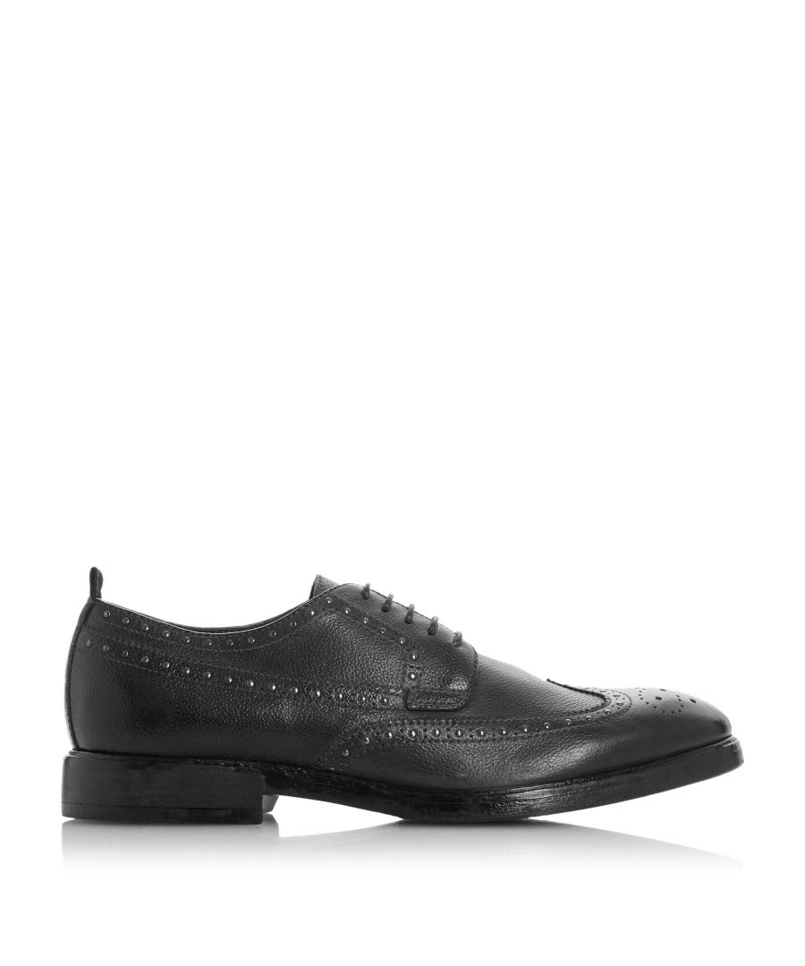Image for Bertie Mens BARANISE Studded Lace Up Brogue