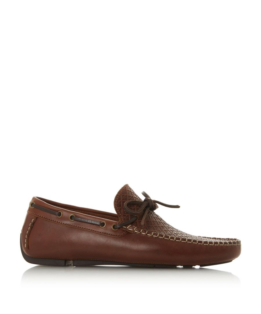 Image for Bertie Mens BARBICAN1 Woven Driver Loafer