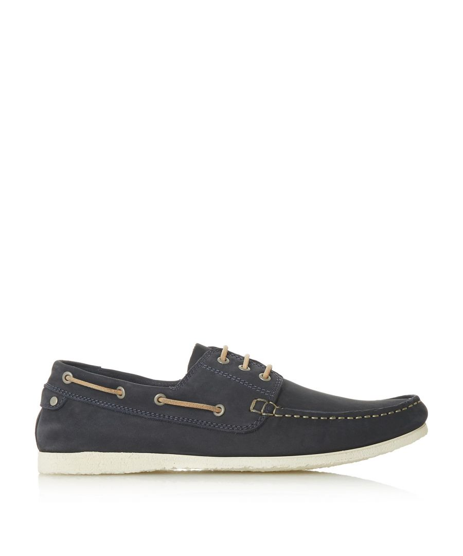 Image for Dune Mens BARGE Classic Boat Shoe