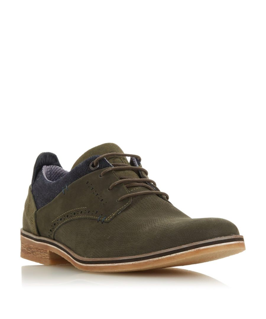 Image for Dune Mens BARINAS Nubuck Gibson Shoe
