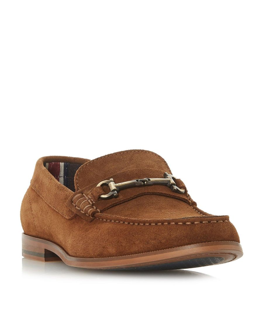 Image for Dune Mens BARITONE Snaffle Detail Loafer