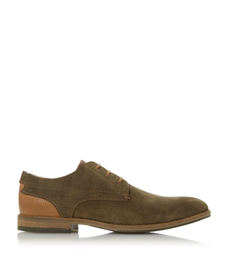 Image for Dune Mens BARRIE Embossed Back Gibson Shoes