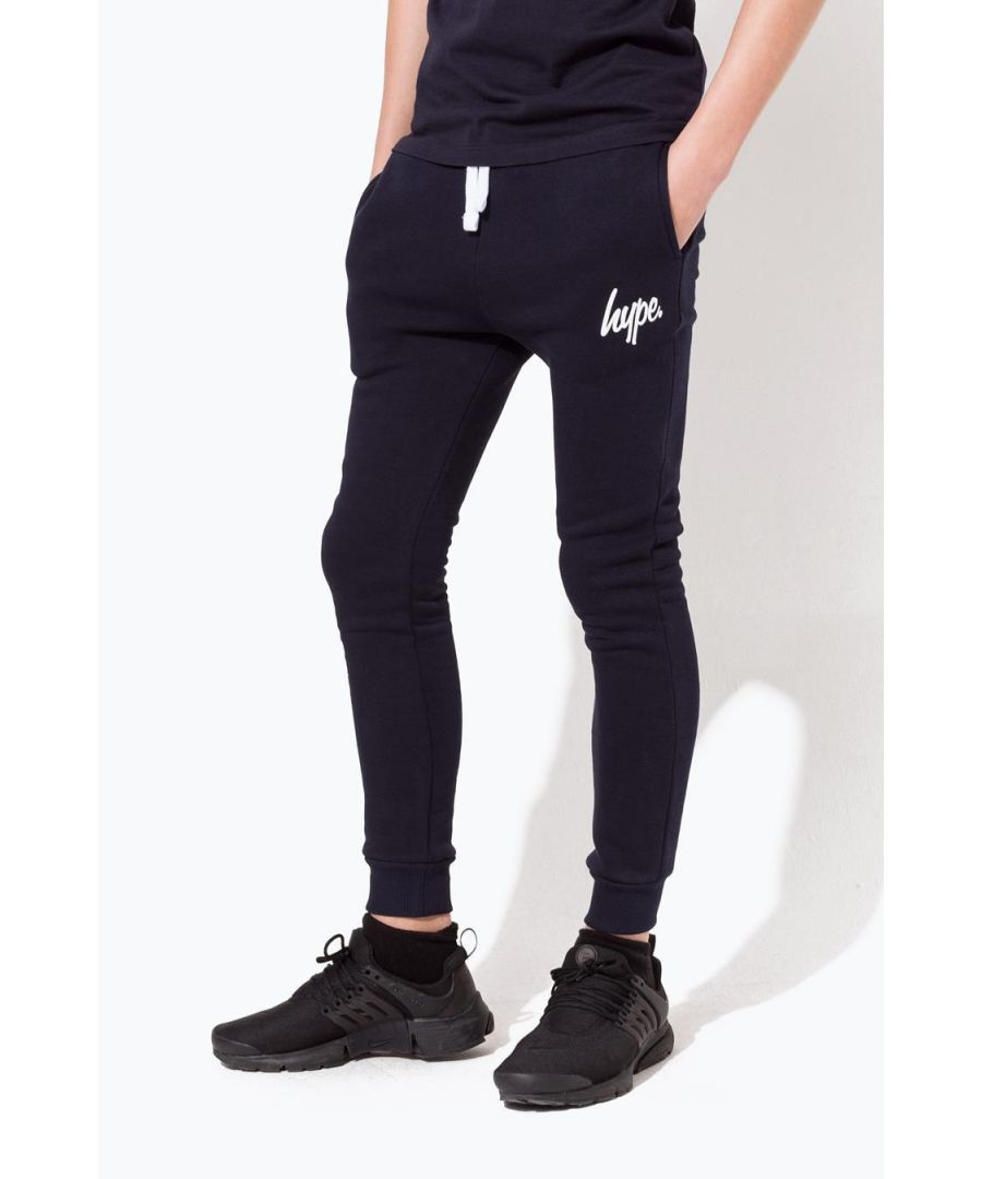 Image for Hype Navy Script Kids Joggers