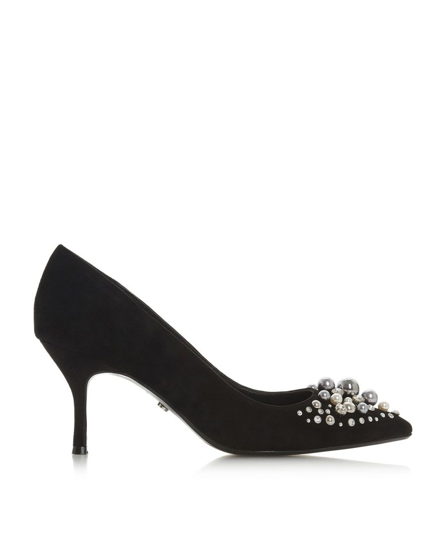 Image for Dune Ladies BAUBELLE Encrusted Bauble Court Shoes