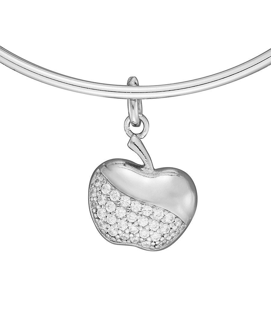 Image for Anne Jolie  Apple Charm Expandable Bangle