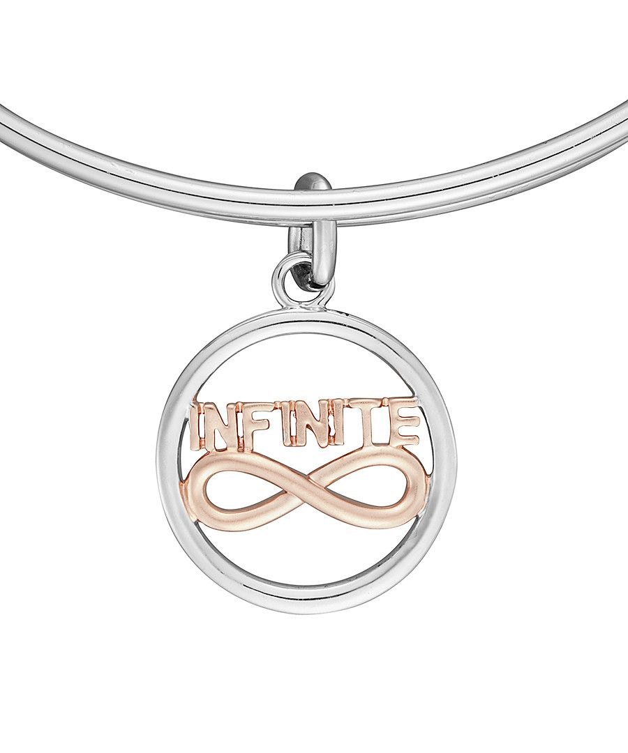 Image for Anne Jolie Two-tone Infinite Charm Expandable Bangle