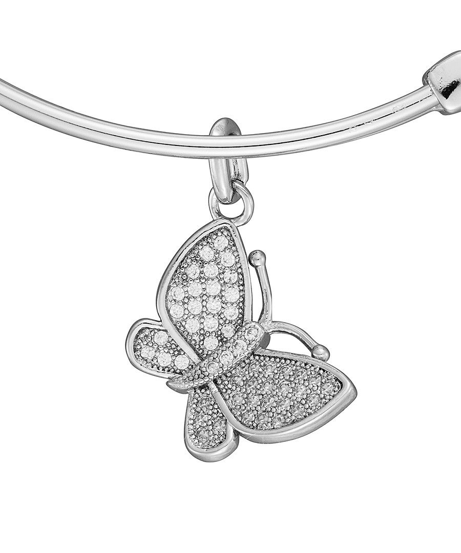 Image for Anne Jolie  Butterfly Charm Expandable Bangle