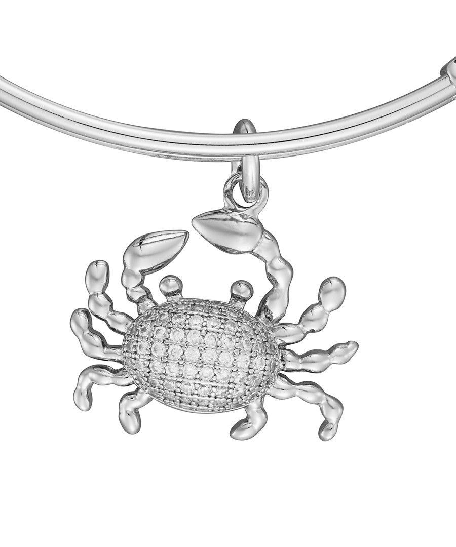 Image for Anne Jolie  Crab Charm Expandable Bangle