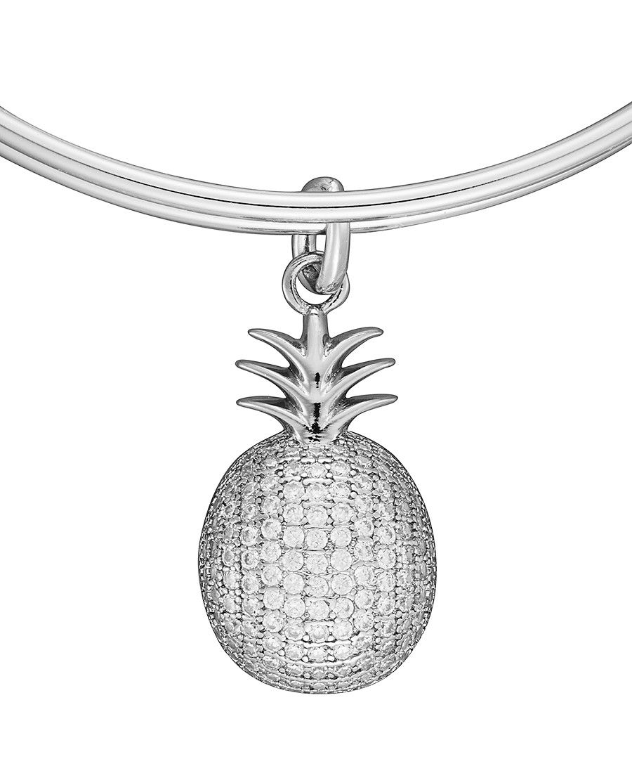 Image for Anne Jolie  Pineapple Charm Expandable Bangle