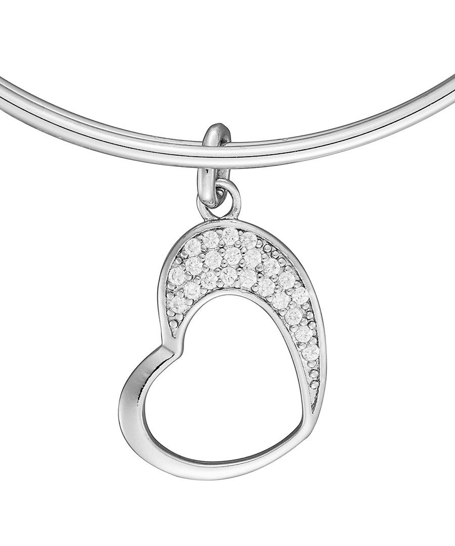 Image for Anne Jolie  Heart Charm Expandable Bangle