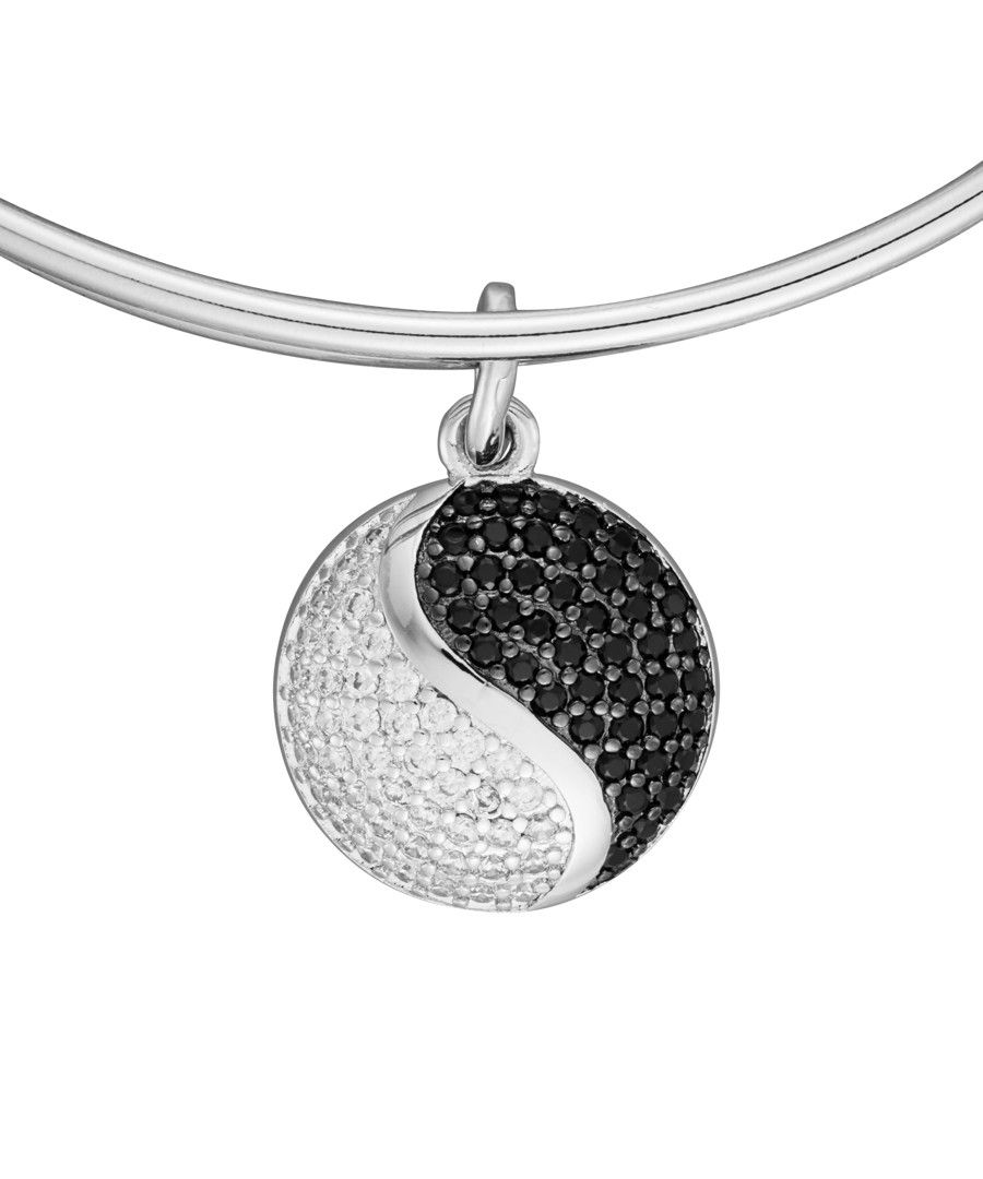 Image for Anne Jolie  Ying-Yang Charm Expandable Bangle