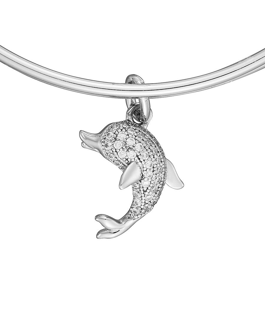 Image for Anne Jolie  Dolphin Charm Expandable Bangle