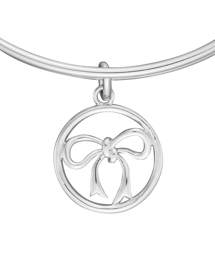 Image for Anne Jolie  Bow Charm Expandable Bangle