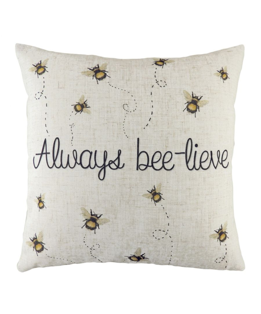 Image for Bee-Lieve Cushion