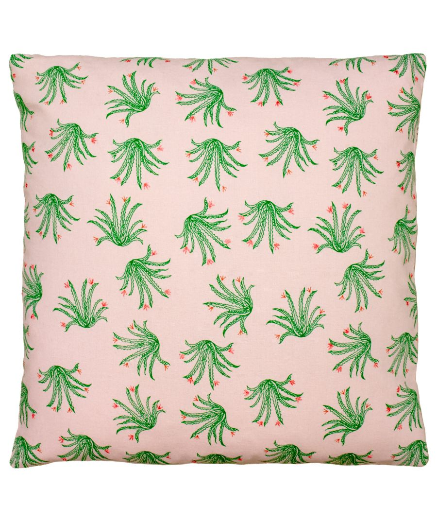 Image for Blush Cactus 45X45 PCushion Pnk/Gre