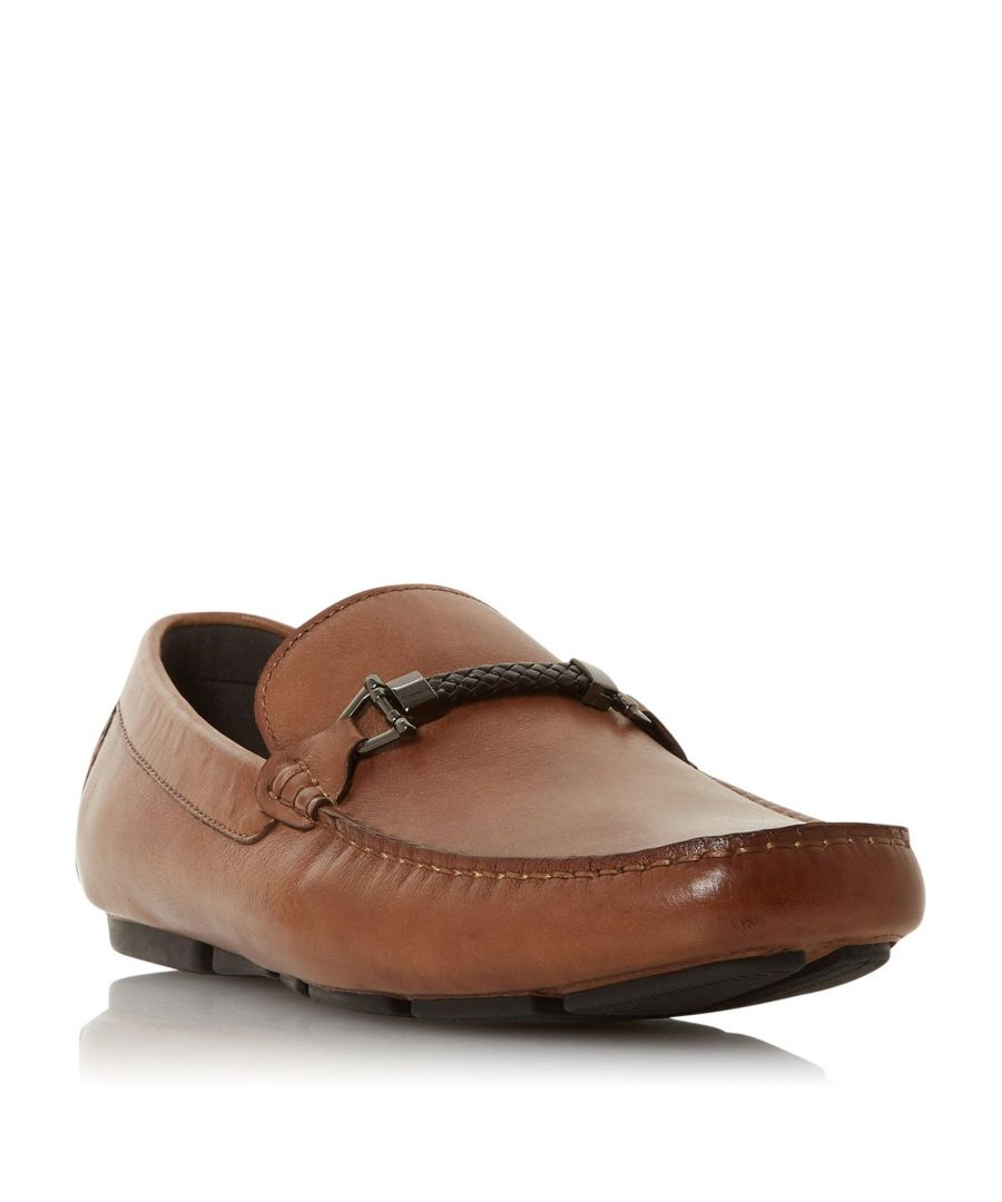 Image for Dune Mens BEACONS Square Toe Moccasin Loafer