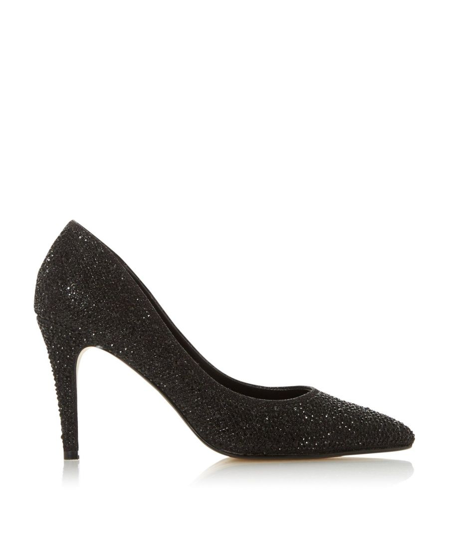 Image for Dune Ladies BELIEVE XX Embellished Stiletto Heel Court Shoes