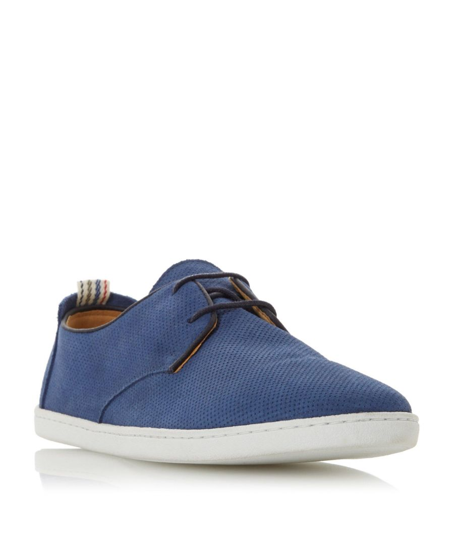 Image for Dune Mens BELLOWS Perforated Casual Gibson Shoe