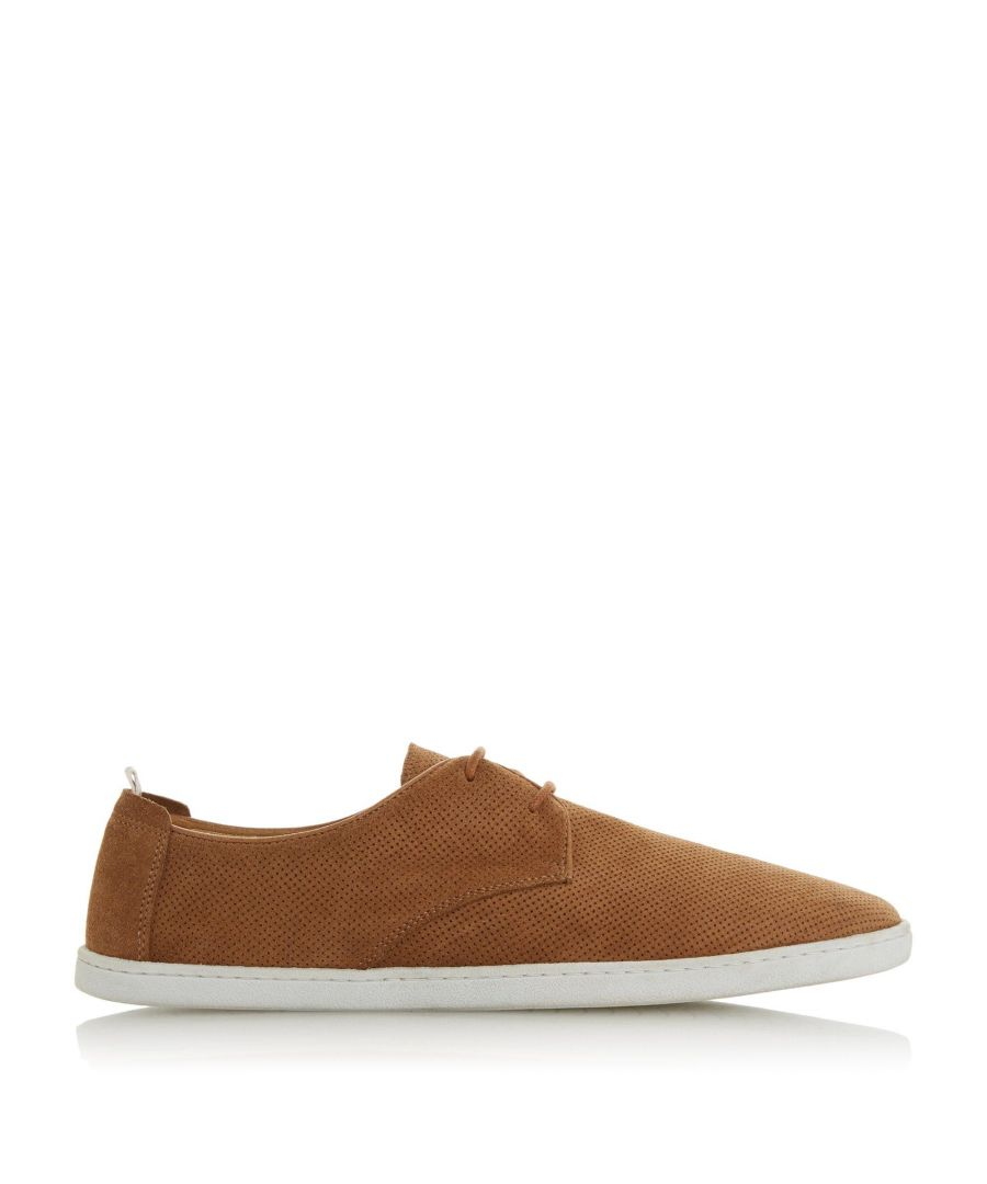 Image for Dune Mens BELLOWS Perforated Casual Gibson Shoes