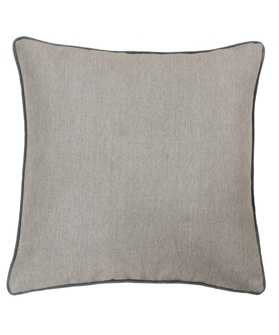Image for Bellucci 45X45 Poly Cushion Gra/Tob
