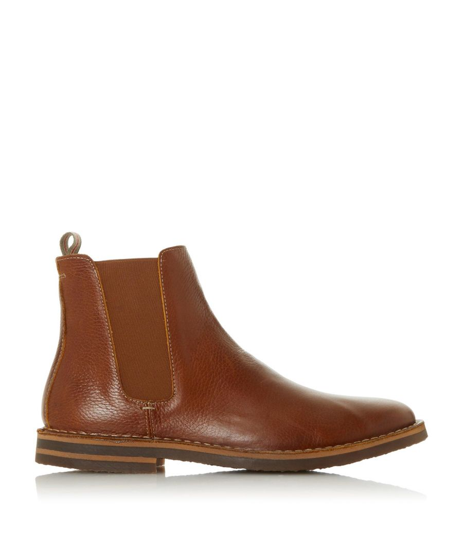 Image for Bertie Mens BENZOLL Stitch Down Low Heel Chelsea Boots