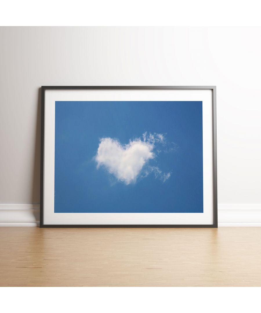 Image for Loverheart Cloud - Black frame