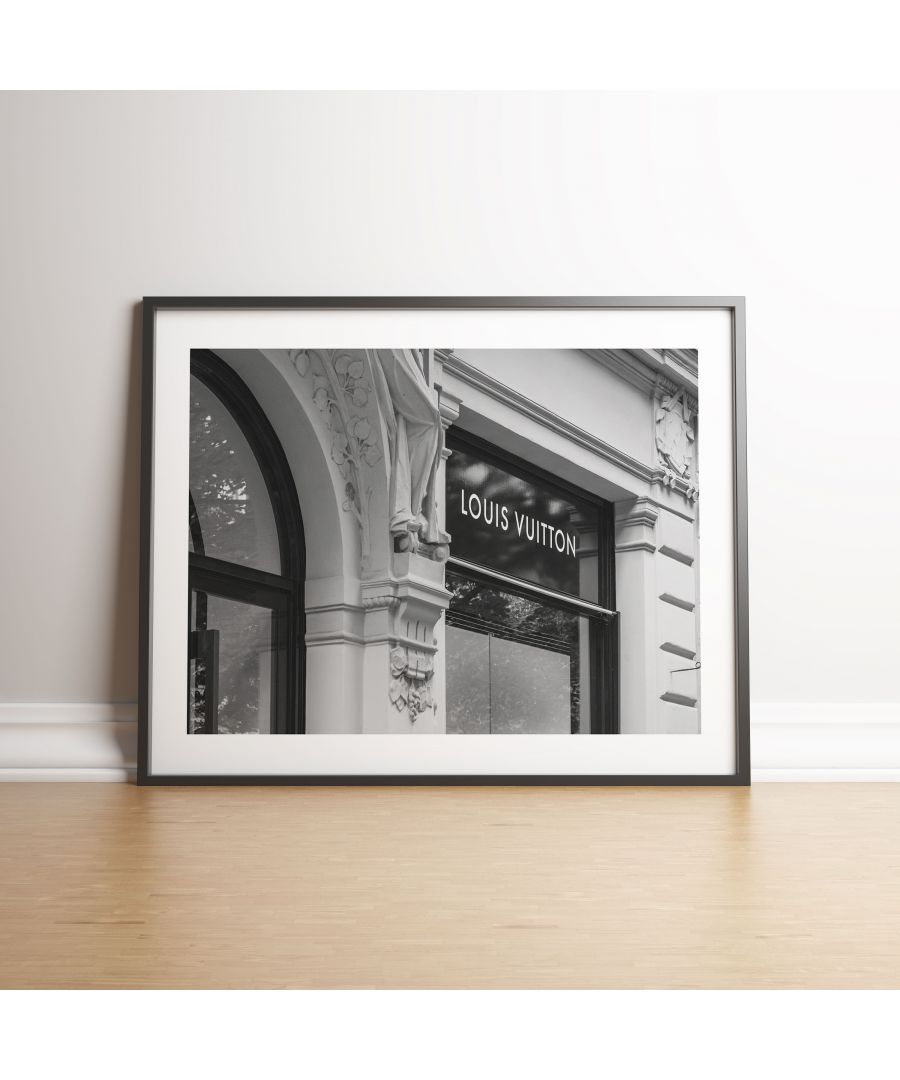 Image for Louis Vuitton Store Front - Black frame