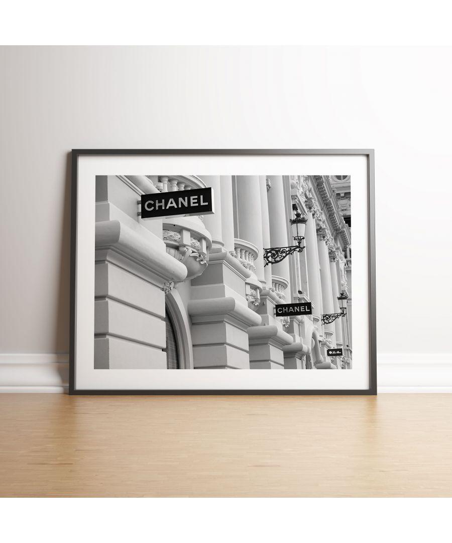 Image for Chanel Boutique Store Front - Black frame