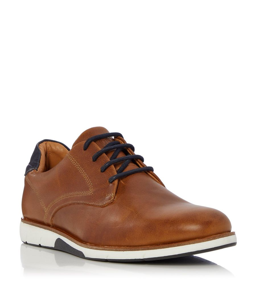 Image for Dune Mens BICKER Lace Up Gibson Shoe