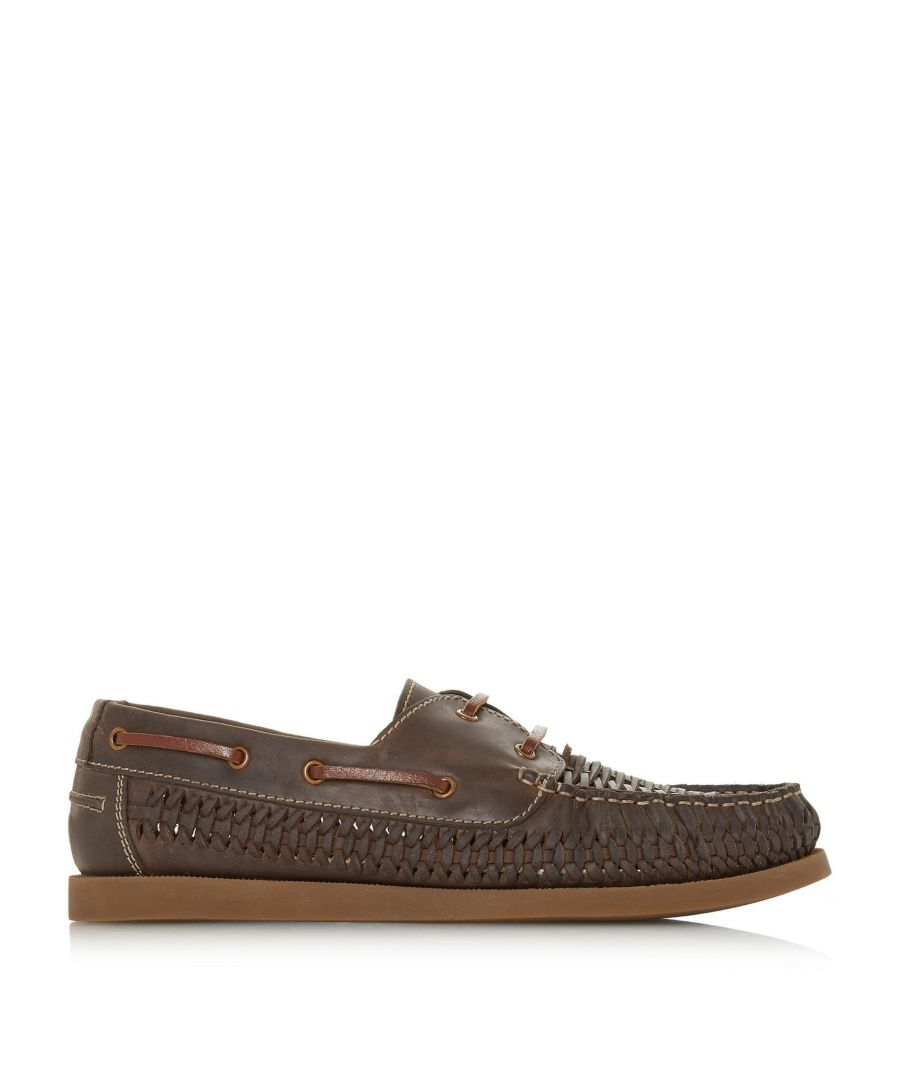 Image for Bertie Mens BILLFISH Woven Sporty Sole Boat Shoes