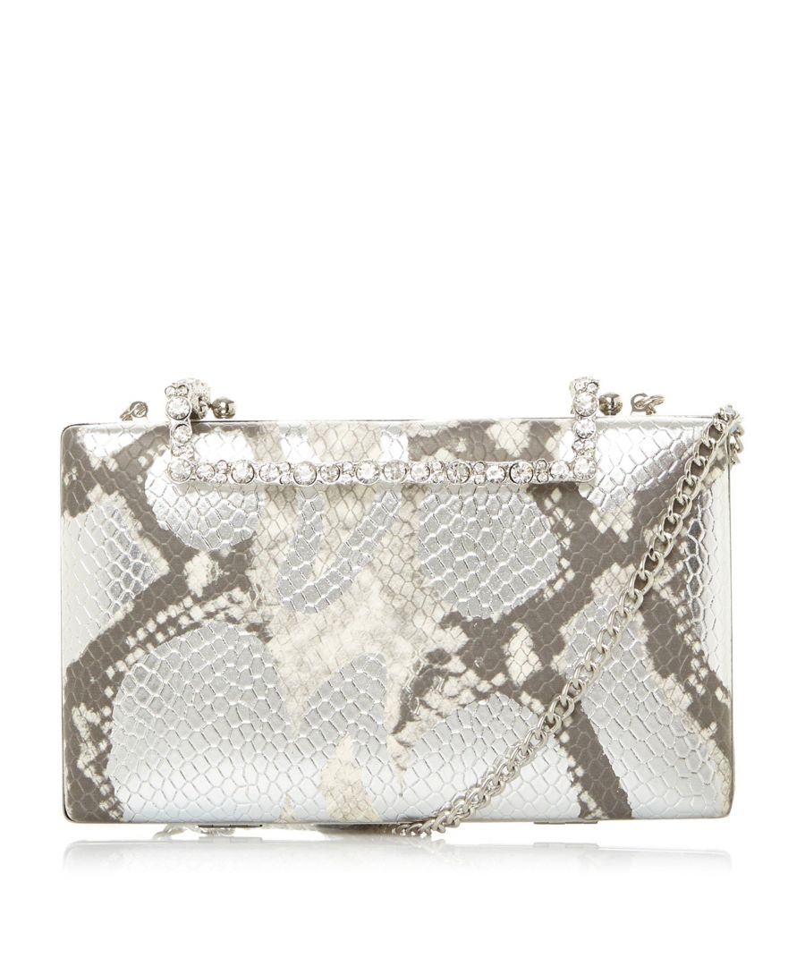 Image for Dune BINXIE DI Jewelled Clasp Clutch Bag
