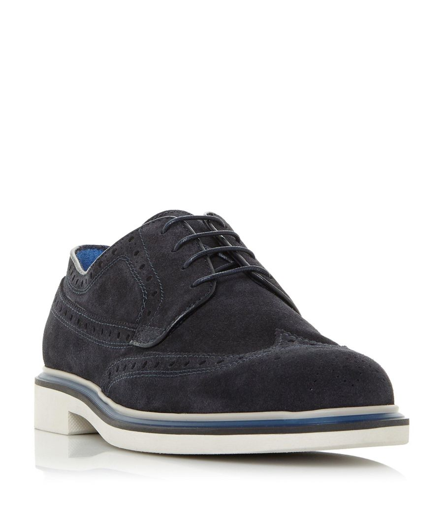 Image for Dune Mens BIONIC Contrast Sole Lace Up Brogue