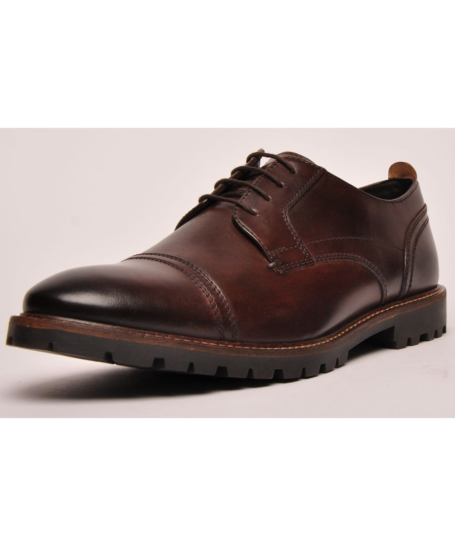 Image for Base London Pike Leather Mens