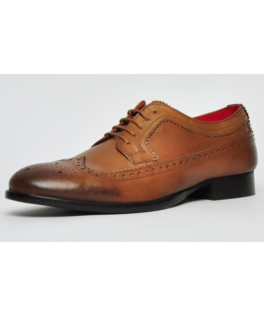 Image for Base London Bailey Leather Mens