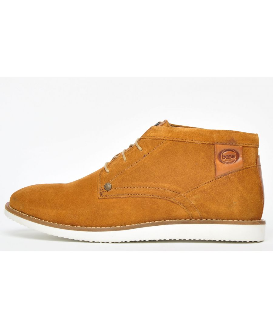 Image for Base London Buster Suede Leather Mens