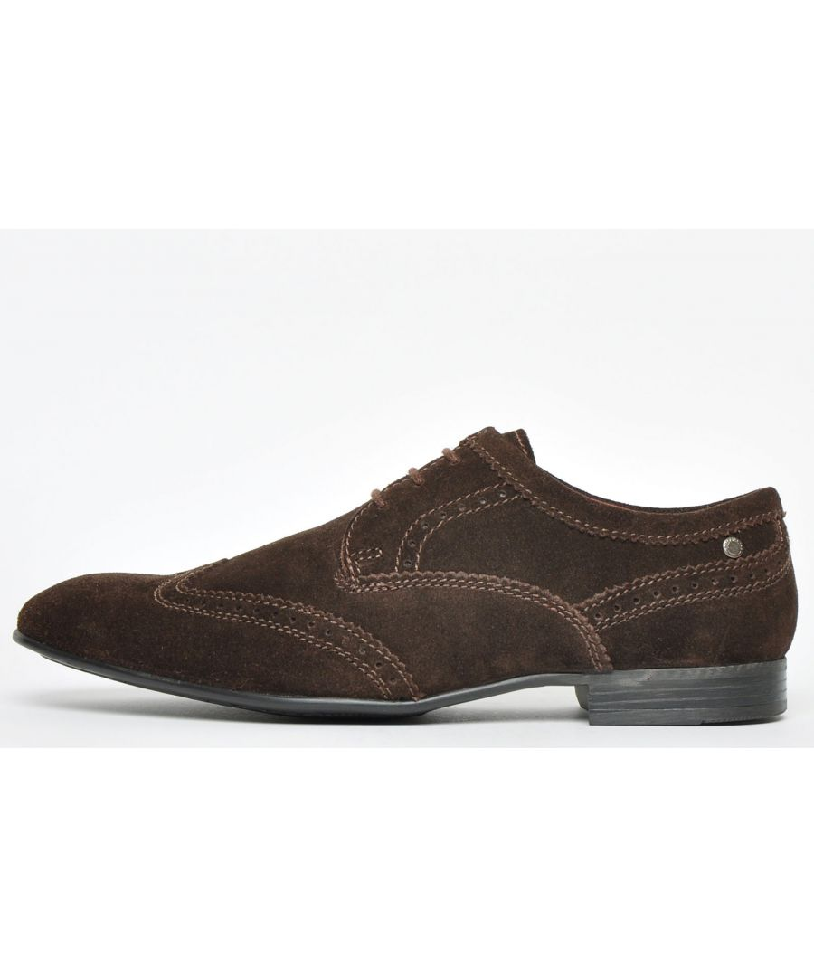 Image for Base London Purcell Suede Leather Mens