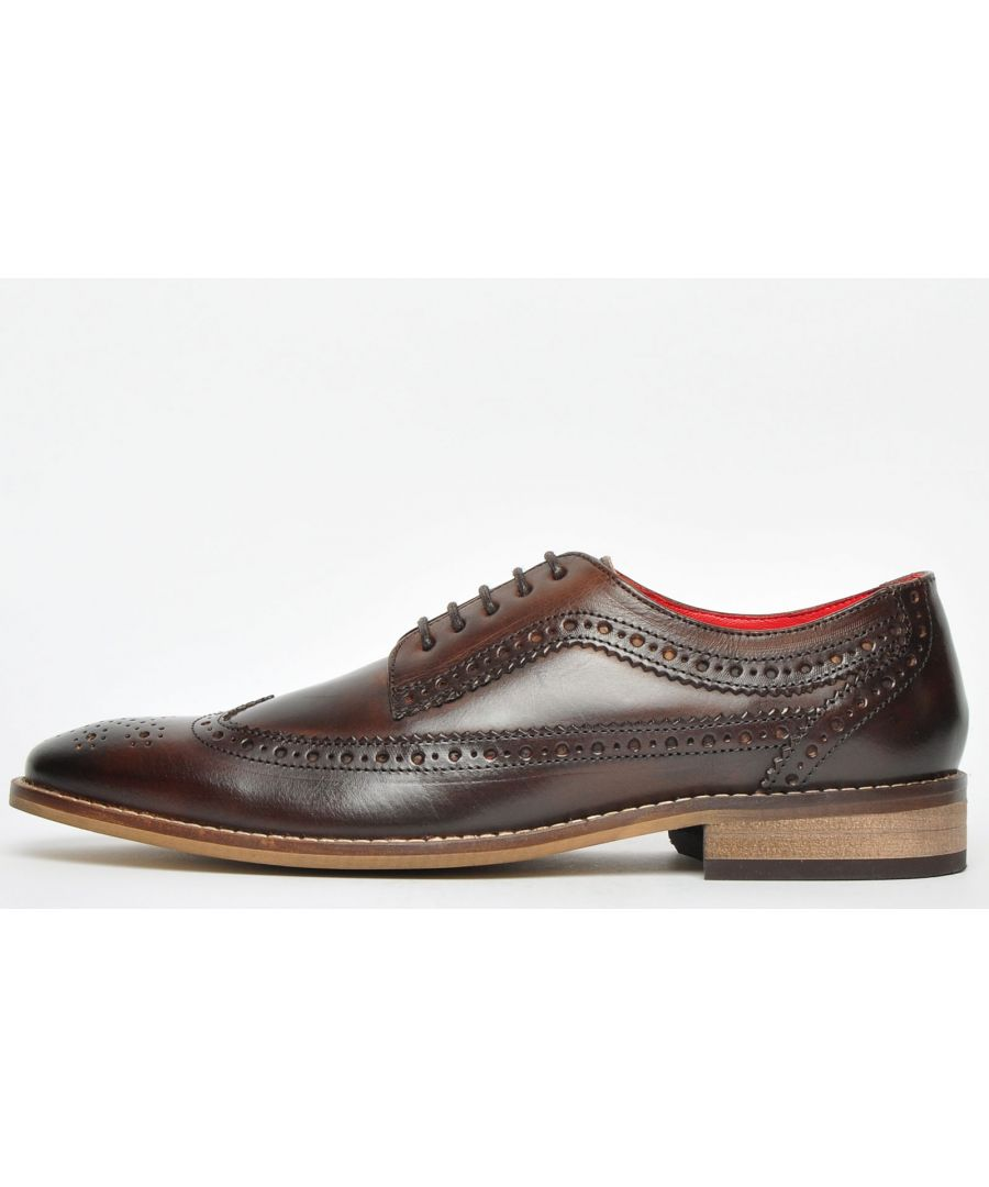 Image for Base London Durham Leather Mens