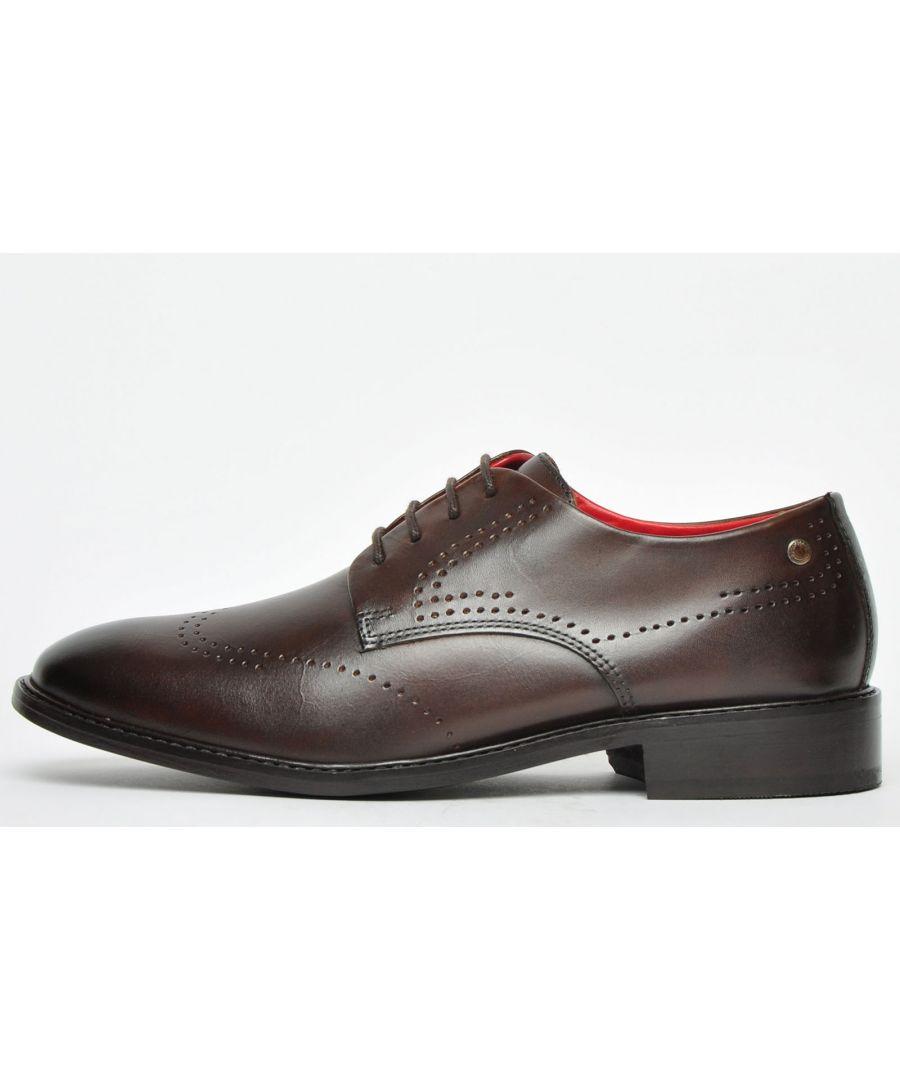 Image for Base London Regent Leather Mens