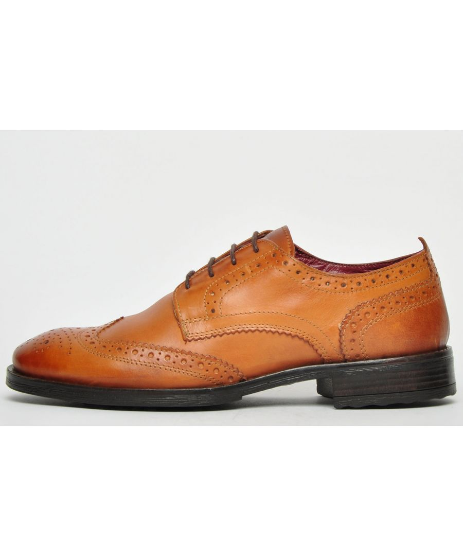 Image for Base London Porter Leather Mens