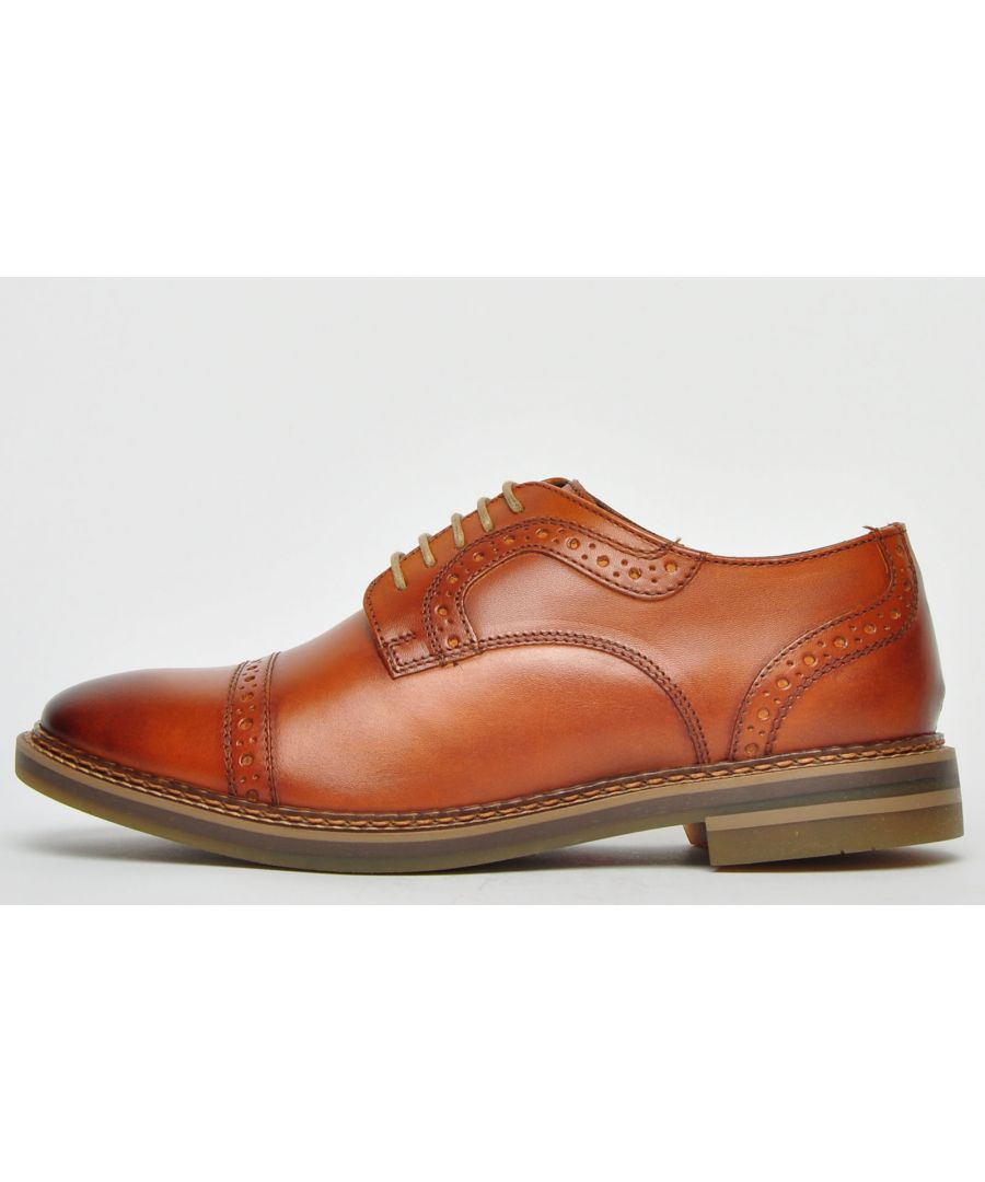 Image for Base London Butler Leather Mens
