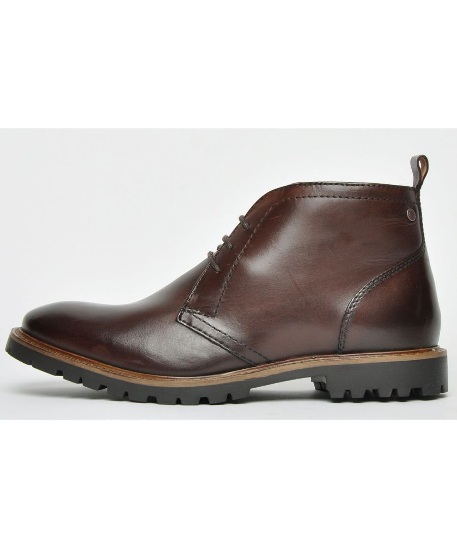 Image for Base London Trojan Leather Mens