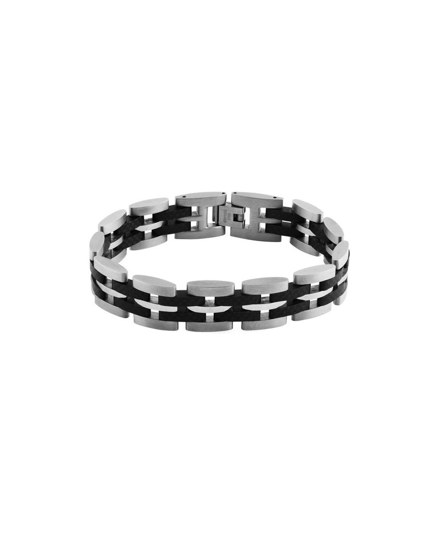 Image for Titanium and carbon bracelet