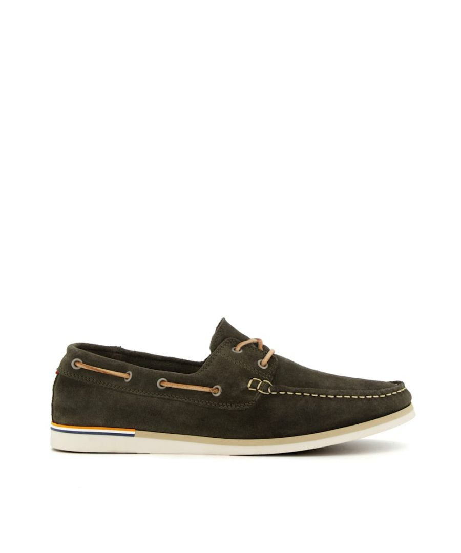Image for Dune Mens BLAINES Nubuck Boat Shoes