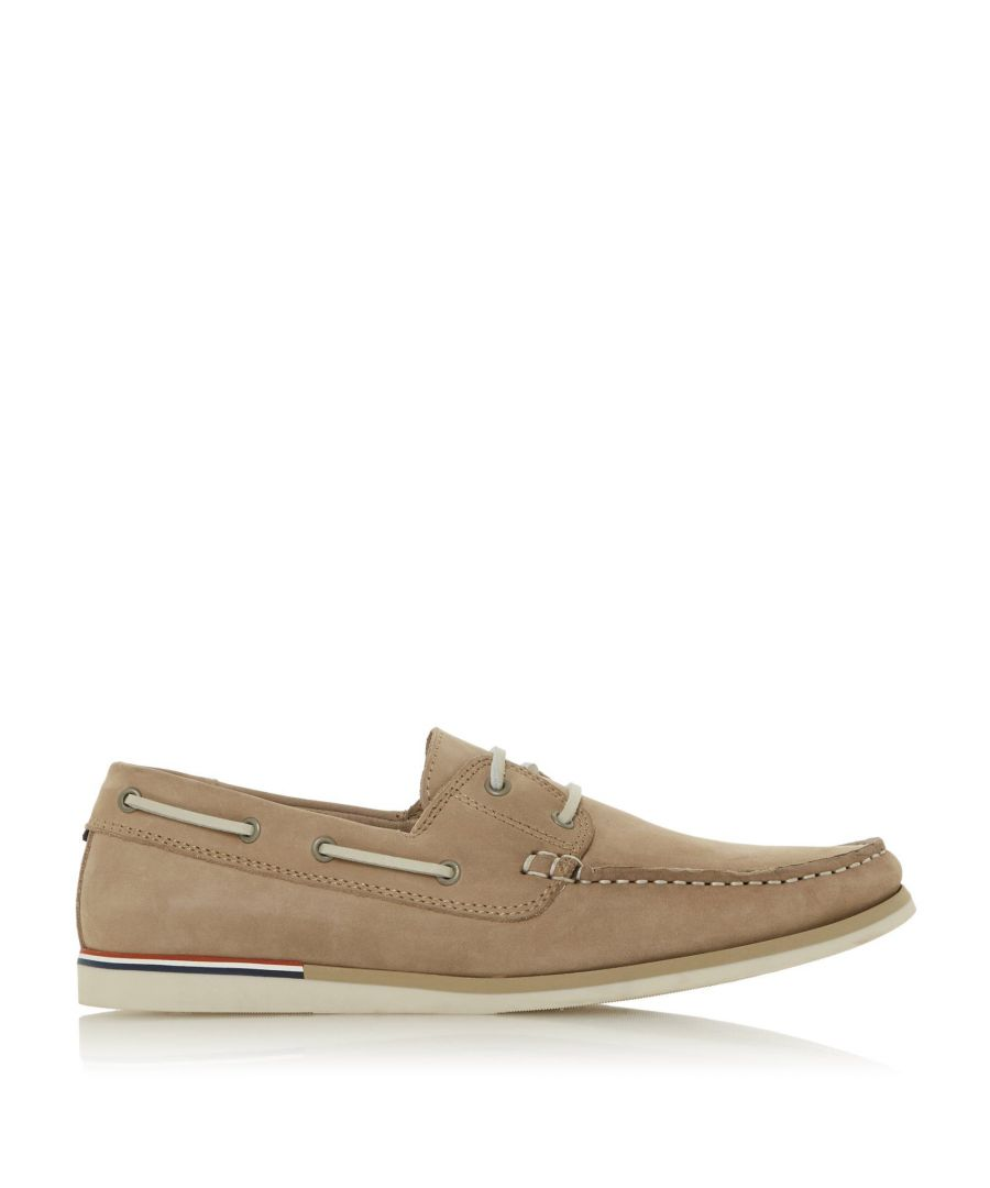 Image for Dune Mens BLAINESS Nubuck Boat Shoes