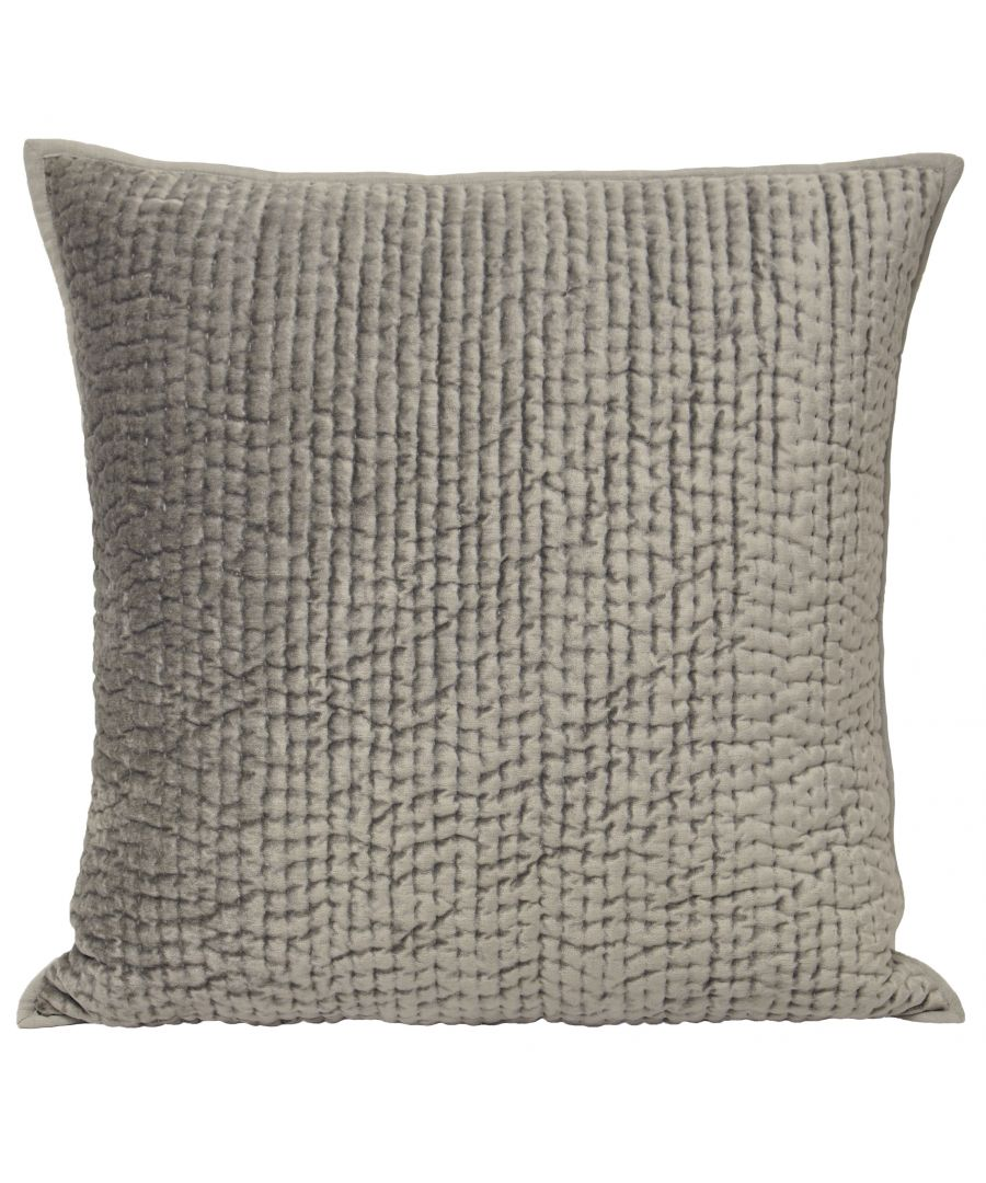 Image for Brooklands 55X55 Poly Cushion Silve
