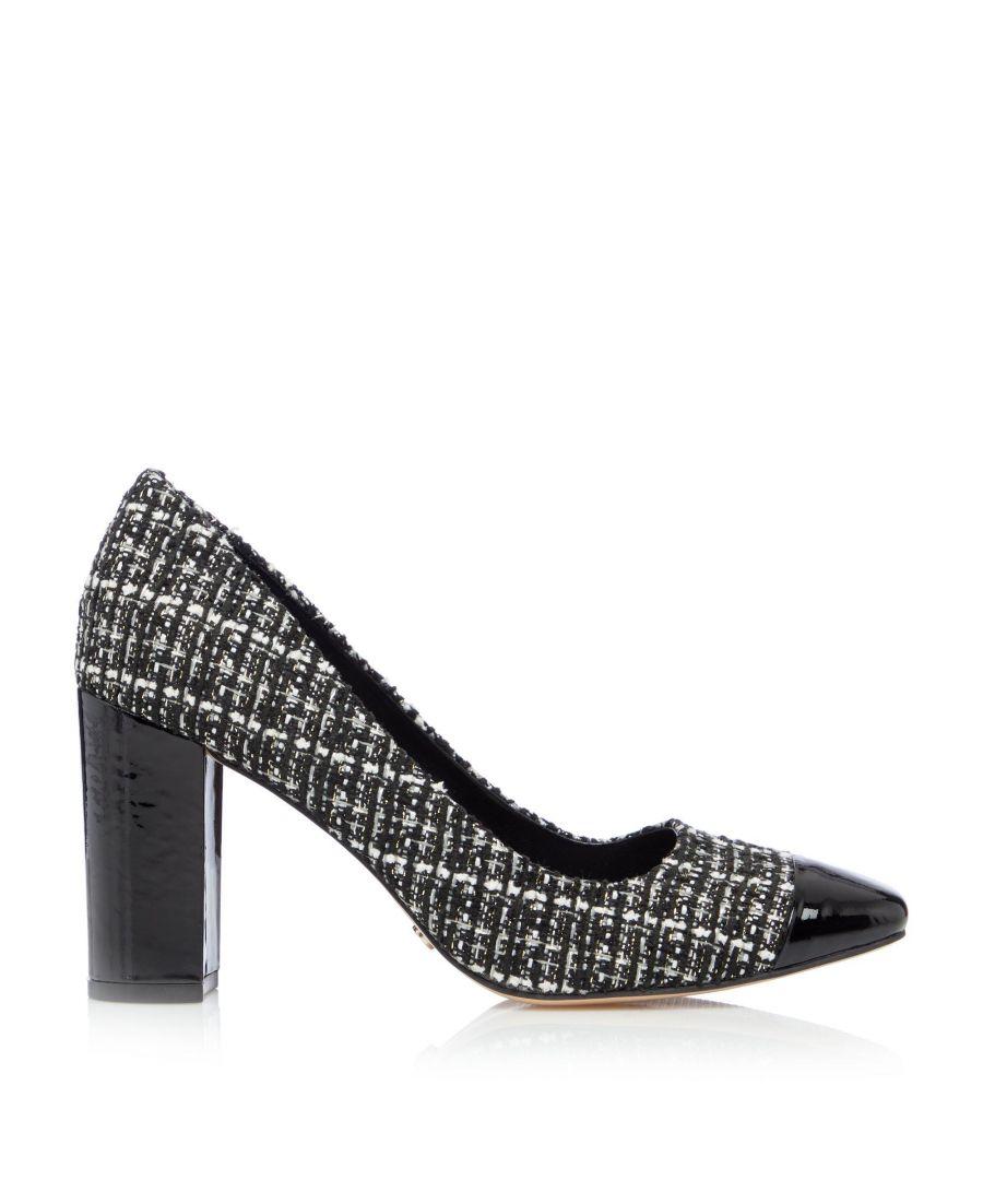 Image for Dune Ladies BLANKO Square Toe Block Heel Shoes