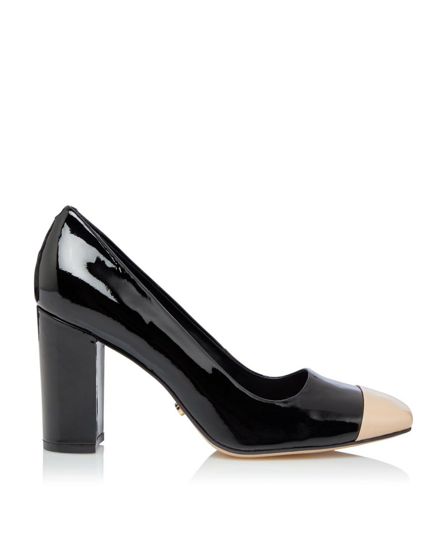 Image for Dune Ladies BLANKO Square Toe Block Heel Shoes