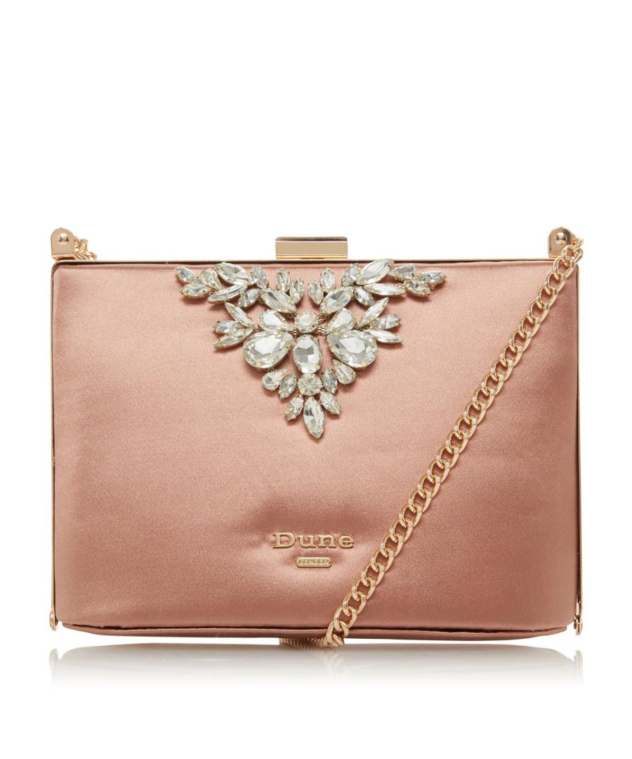 Image for Dune BLINGING DI Embellished Trim Clutch Bag