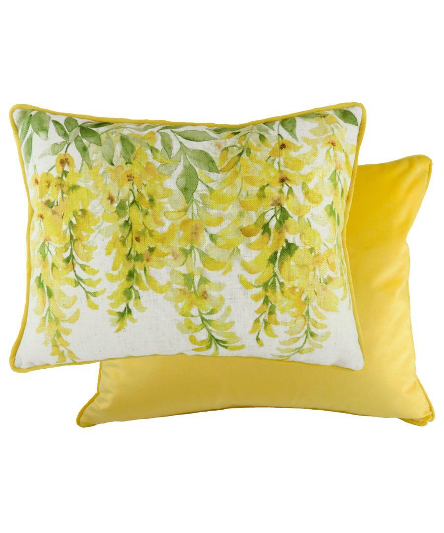 Image for Blossoms Laburnum Cushion